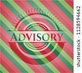 advisory christmas emblem... | Shutterstock .eps vector #1128594662