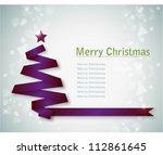 Simple Vector Purple Christmas...