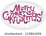new year's inscriptions | Shutterstock .eps vector #112861696