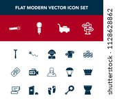 modern  simple vector icon set...   Shutterstock .eps vector #1128628862
