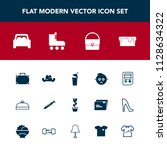 modern  simple vector icon set... | Shutterstock .eps vector #1128634322