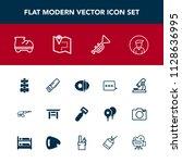 modern  simple vector icon set... | Shutterstock .eps vector #1128636995
