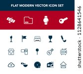 modern  simple vector icon set... | Shutterstock .eps vector #1128641546