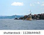 maiden's tower bosporus istanbul | Shutterstock . vector #1128644465