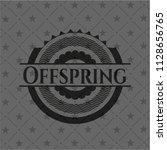 offspring black badge   Shutterstock .eps vector #1128656765