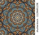 seamless pattern tile | Shutterstock .eps vector #1128681158