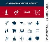 modern  simple vector icon set... | Shutterstock .eps vector #1128687386