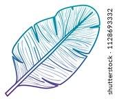 leaf plant ecology icon