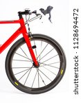 cycling sport concepts. closeup ... | Shutterstock . vector #1128694472