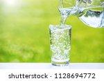 image of water | Shutterstock . vector #1128694772