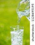 image of water | Shutterstock . vector #1128695195