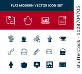 modern  simple vector icon set...   Shutterstock .eps vector #1128704705