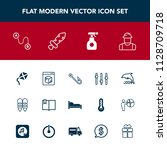 modern  simple vector icon set... | Shutterstock .eps vector #1128709718