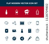 modern  simple vector icon set...   Shutterstock .eps vector #1128709802
