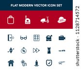 modern  simple vector icon set... | Shutterstock .eps vector #1128714572