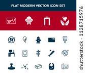 modern  simple vector icon set... | Shutterstock .eps vector #1128715976