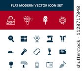 modern  simple vector icon set... | Shutterstock .eps vector #1128717848