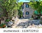 doganbey village... aegean... | Shutterstock . vector #1128722912