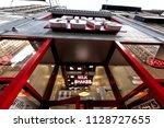 new york city  usa   april 6 ...   Shutterstock . vector #1128727655