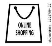 online shopping icon isolated...