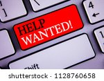 writing note showing  help... | Shutterstock . vector #1128760658