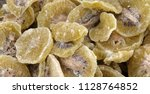 candied kiwifruit crystallized... | Shutterstock . vector #1128764852