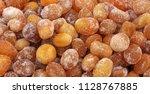 candied strawberries... | Shutterstock . vector #1128767885