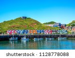 "helgoland  ""hummerbuden"" ... | Shutterstock . vector #1128778088"