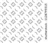 seamless geometric ornamental... | Shutterstock .eps vector #1128795515
