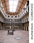 Stock photo kilmainham gaol famous prison in dublin ireland 1128824102