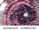 abstract halftone background...   Shutterstock .eps vector #1128841232