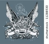 vintage template | Shutterstock .eps vector #11288530