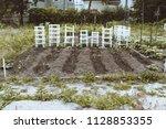 urban co op gardening project...   Shutterstock . vector #1128853355