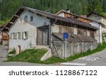 old houses in fontanazzo di... | Shutterstock . vector #1128867122