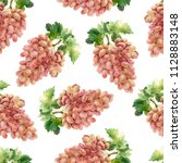 seamless pattern with bunch of... | Shutterstock . vector #1128883148