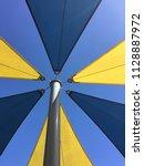 large solid weatherproof...   Shutterstock . vector #1128887972