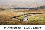 corrour  scotland  uk  ... | Shutterstock . vector #1128913805