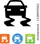 traction control icon | Shutterstock .eps vector #1128945062