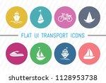 flat ui 8 color transport ...