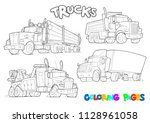 coloring pages for children.... | Shutterstock .eps vector #1128961058