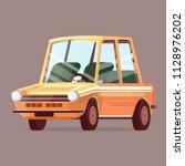 vector image of a cartoon... | Shutterstock .eps vector #1128976202
