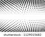 abstract halftone wave dotted... | Shutterstock .eps vector #1129015682