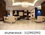 modern lobby for five stars...   Shutterstock . vector #112902592