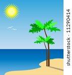 beach | Shutterstock .eps vector #11290414