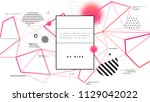 graphic technology structure... | Shutterstock .eps vector #1129042022