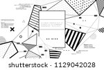 graphic technology structure... | Shutterstock .eps vector #1129042028