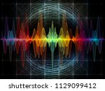 wave function series. artistic...   Shutterstock . vector #1129099412