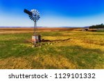 single historic self winding... | Shutterstock . vector #1129101332