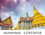 thailand bangkok  8 july 2018   ... | Shutterstock . vector #1129116518