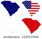 vector illustration of south... | Shutterstock .eps vector #1129117646